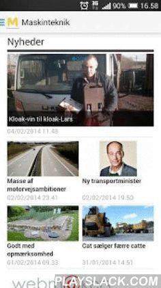 Maskinteknik  Android App - playslack.com ,  Det eneste fagblad i Danmark, der dækker hele den samlede bygge- og anlægssektor, fra den lille håndværksmester til Danmarks største virksomheder inden for bygge- og anlægsbranchen og den samlede grønne sektor. Med Maskintekniks app på din iPad eller iPhone har du adgang til nyhederne, uanset hvor du er, døgnet rundt, 365 dage om året. The only magazine in Denmark, covering the entire general construction sector, from small craftsman to the…