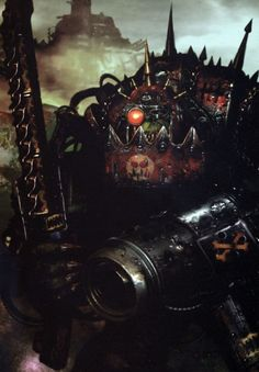 Here we see a typical Ork in its natural habitat...