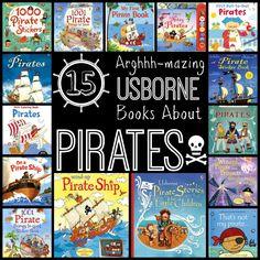 15 Arghhh-mazing Usborne Books About Pirates www.booksandbrownies.com