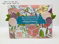 Stampin' Up! Cake Soiree & Tailored Tag – Stamp It Up with Jaimie