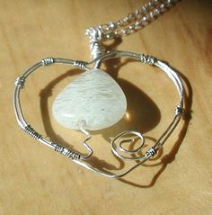 Heart Pendant Necklace by CharlesWebSales on Etsy, $19.99
