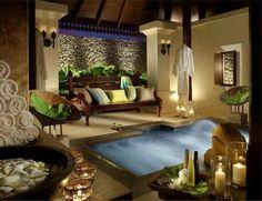 Luxury Spa Bathroom Ideas - Home to Z Spa Design, House Design, Garden Design, Design Ideas, Spa Luxe, Luxury Spa, Spa Day At Home, Home Spa, Dream Bathrooms