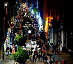 Istiklal Caddesi, Taksim, Istanbul