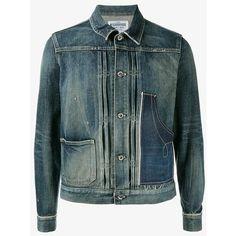 10003d71f7 Neighborhood Savage Stockman Denim Jacket (755 AUD) ❤ liked on Polyvore  featuring men s fashion