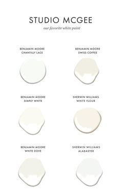 MM//This article is helpful for what to consider (warmth, undertones etc) when selecting white paint The Best White Paint Colors For Every Home Off White Paint Colors, Off White Paints, Best White Paint, Best Paint Colors, Wall Paint Colors, Paint Colors For Home, Neutral Paint, Gray Paint, White Wall Paint