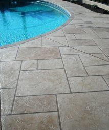 Kool Deck and Concrete Repair,Acrylic Coatings,Epoxy Floors -Chandler AZ Pool Paving, Concrete Pool, Stamped Concrete, Concrete Overlay, Printed Concrete, Clean Concrete, My Pool, Swimming Pools Backyard, Lap Pools