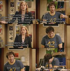 IT Crowd - Roy feels delicate--oh, this is one of the funniest episodes of all time! Very funny show! Nerd Love, My Love, British Comedy, Just For Laughs, Mikey, Movie Quotes, Laugh Out Loud, Comedians, Favorite Tv Shows