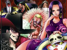Shichibukai - One Piece,Anime