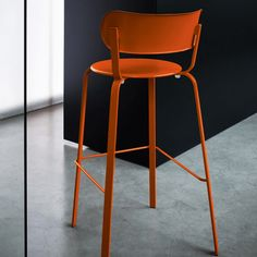 STIL - Contemporary bar chair / fabric / commercial / by patrick norguet by Lapalma
