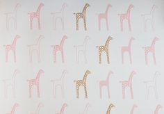 Pink Giraffe Scented Drawer Liners Available On Birchwoodtrading Baby Drawers