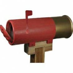 Shot Gun Shell Mailbox