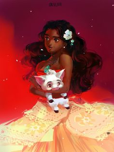 Moana by caesiusm on DeviantArt