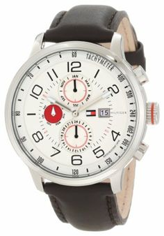 Tommy Hilfiger Men's 1790858 Sport Multi-Function Enamel Dial Watch Tommy Hilfiger. $97.99. Quartz movement. Water-resistant to 50 M (165 feet). Sport multifunction white dial. Durable mineral crystal protects watch from scratches,. Black arabic numerals