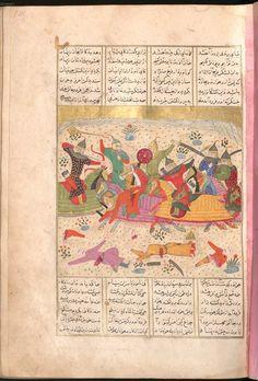 Firdausī: Šāhnāma - BSB Cod.pers. 8. - Iran, 1497 [902 h.] 17 Bayerische Staatsbibliothek