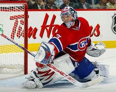 I don't usually root for the Canadiens; however, this guy was amazing in the 2014 winter olympics.helped Canada to win gold, I might add! Ice Hockey Teams, Hockey Goalie, Hockey Stuff, Montreal Canadiens, Nfl Highlights, Hockey Pictures, Canadian Things, Nhl Players, National Hockey League