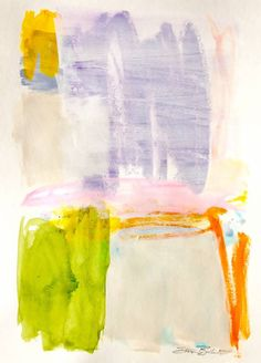 """Layered pastels and acrylic on 140lb 18 x 24"""" watercolor paper."""
