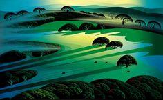 Jewel Forest - Eyvind Earle - WikiArt.org