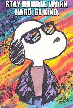 Snoopy- too cool for school