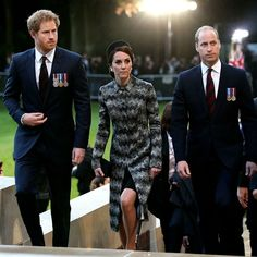 The British Royal Family Remembers Wwi Battle In France All The Photos Hello Us Prince Harry