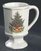 Pfaltzgraff Christmas Heritage Pedestal Mugs