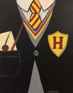 Harry Potter Canvas and Chardonnay Rochester Mn - Canvas Painting Harry Potter Canvas, Harry Potter Painting, Harry Potter Drawings, Harry Potter Diy, Cute Canvas Paintings, Mini Canvas Art, Kids Canvas, Christmas Canvas Paintings, Canvas Ideas