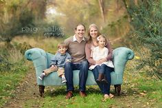family on couch, couch posing ideas, family photo session in a field with couch prop Family Christmas Pictures, Fall Family Pictures, Family Picture Poses, Family Photo Outfits, Family Photo Sessions, Family Posing, Family Portraits, Mini Sessions, Family Pics