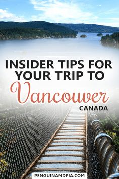 There are many things to do in Vancouver, British Columbia - from Gastown to Stanley Park and many more. A local share some insider tips with things that you should't miss in Vancouver and how you can make the most of your visit to the Canadian west coast Vancouver Travel, Vancouver Vacation, British Columbia, Columbia Travel, Vancouver Tourist Attractions, Travel Guides, Travel Tips, West Coast Canada, Viajes