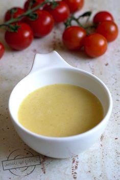 Sos miodowo-musztardowy do sałatek – Smaki na talerzu Pesto Sauce, Vinaigrette, Chutney, Fondue, Dips, Grilling, Food And Drink, Pudding, Cheese
