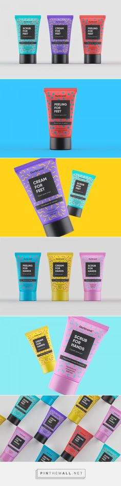 Ourbrand Skin Care packaging concept by Funky Business - http://www.packagingoftheworld.com/2016/10/ourbrand-skin-care-concept.html