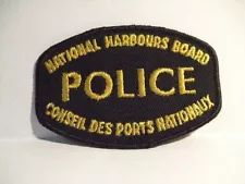 NATIONAL HARBOURS BOARD POLICE CANADA