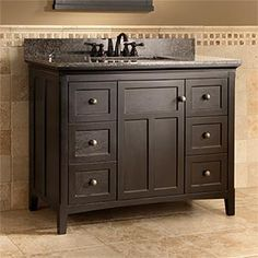 """I like the colour & style of this 42"""" vanity ... but I can't find a 30"""" equivalent."""
