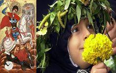 În ziua de 22 aprilie, cu prilejul Ajunului zilei Sfântului Gheorghe, ramurile de salcie sau răchită au o mare prețuire. Ele se pun la fere...