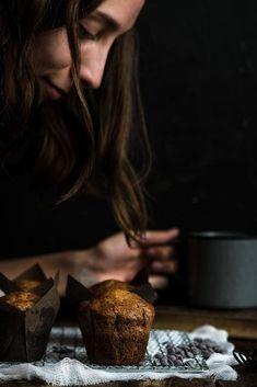 Banánové muffiny s čokoládou V60 Coffee, Sweets, Fit, Gummi Candy, Shape, Candy, Goodies, Treats, Deserts