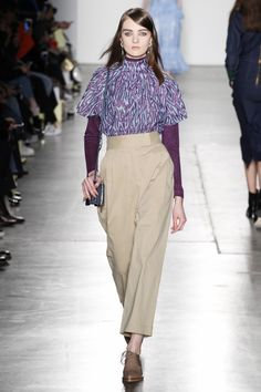 Karen Walker Fall 2016 Ready-to-Wear Fashion Show  http://www.theclosetfeminist.ca/  http://www.vogue.com/fashion-shows/fall-2016-ready-to-wear/karen-walker/slideshow/collection#11