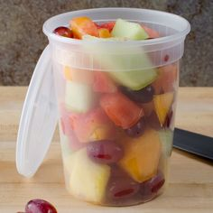When it comes to food storage, mason jars are the popular choice. But when it comes to storing ingredients, or things like vegetables and leftovers, I turn to a restaurant kitchen staple. Maybe it's time you did too.