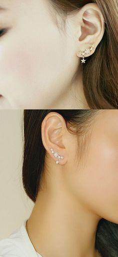 Beautiful Star Earrings