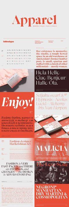 今回のバンドルは「The Treasure Trove of Fonts for Typography Lovers」。表現の引き出しが増える欧文フォントが世界中から集まりました。①フォントはすべて複数の商用プロジェクトに利用可能②Webフォント収録③ウェイト違いを多数収録したビッグファミリー書体収録④リガチャ(合字)やスウォッシュ(飾り)なども充実⑤多くのフォントが英語、スペイン語、フランス語、ドイツ語をはじめとした多言語に対応!参考価格3,207ドルのところ、なんと29ドルの特別プライス。2021年3月9日(火)まで期間限定セール中です。#つくるデポ Iris Van Herpen, Modern Fonts, Design Bundles, Typography, Contemporary Indoor Fountains, Letterpress, Contemporary Fonts, Letterpress Printing, Fonts