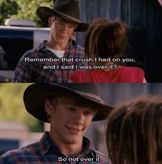 The Hannah Montana Movie only good part is the cowboy. #disney