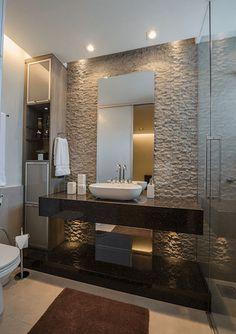 60+ Tapetes para banheiros: fotos e inspirações