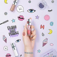 Etude House x High Cheeks - Bling Me Prism Collection Swatches Etude House, Cosmetic Design, Design Fields, Makeup Package, E-mail Marketing, Cosmetic Packaging, Korean Makeup, Korean Beauty, Beauty Review
