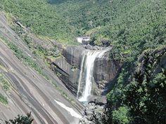 Senpiro-no-taki Waterfall, Yakushima Island, Kyushu, Japan.