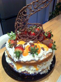 Cream,fruit & chocolate