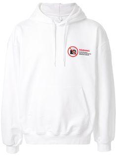 Doublet Slogan Print Drawstring Hoodie In White Doublet, White Hoodie, Hoodies, Sweatshirts, Brand You, Slogan, Size Clothing, Women Wear, Mens Fashion