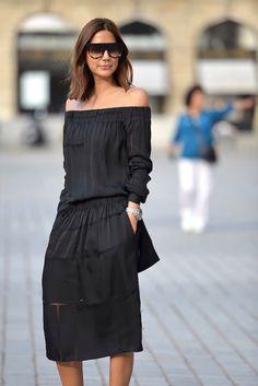 naimabarcelona:  Christine Centenera's (Best Look) Stella McCartney dress, Dior Homme watch, Celine sunglasses.