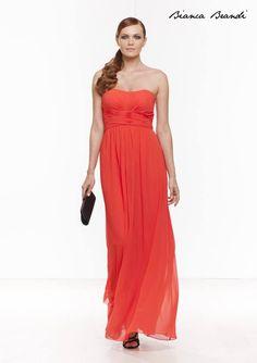2015 Spring / Summer Collection  #moda #abbigliamento #primavera #estate #abito #abitodasera #abitolungo #tulle #abitodacerimonia #abitosirena #specchio #fashion #coture #fashionvictim #style #fashionwoman #look #outfit #dress #partydress #wedding #weddingoutfit #weddingdress #elegance Abito arancione.