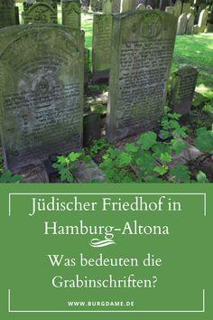 Der jüdische Friedhof in Hamburg Altena gehört zu den größten und interessantesten jüdischen Friedhöfen in Europa. Er ist einzigartig, weil es gleichzeitig ein sephardischer und ein askenasischer Friedhof ist. Nirgendwo anders wurden die Sephardim und die Ashkenasim auf einem Friedhof beerdigt. Außerdem sind einige berühmte Personen dort begraben. Für mich ist der Friedhof von Altona eine der wichtigsten Sehenswürdigkeiten von Hamburg. #jüdischerfriedhof #friedhof #hamburg #hamburgaltona Cemetery, Abandoned, Plants, Europe, Headstone Inscriptions, Iberian Peninsula, Old Cemeteries, Travel Report, Left Out