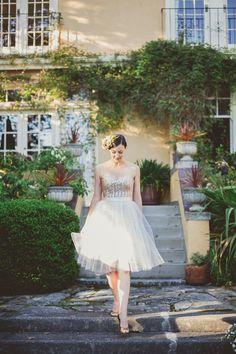 Sample: Short Blush Sequin Dress, Bridesmaid Dress Short Wedding Dress Modern Simple Wedding Gown Eco Friendly