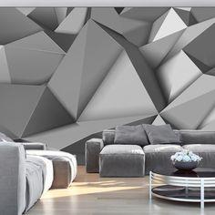 Tapeten mit geometrischen Mustern