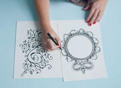 Agence Cécile Halley des Fontaines - Global design agency - Château de la Bourdaisière— handmade logo — monogram