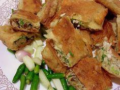 Deep Fried Beef and Vegetables Wrap (Martabak Telor)